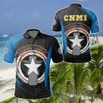 Northern Mariana Islands Spirit All Over Print Polo Shirt