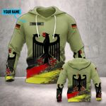 Customize German Army Eagle Version All Over Print Hoodies