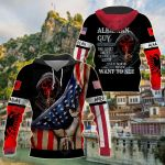 America - Albania I'm Albanian Guy All Over Print Shirts