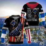 America - El Salvador I'm Salvadoran Guy All Over Print Shirts