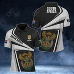 Customize South Africa Proud - New Style All Over Print Polo Shirt