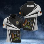 Customize Uganda Proud - New Style All Over Print Polo Shirt