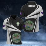 Customize Belize Proud - New Style All Over Print Polo Shirt