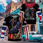America - Cuba I'm Cuban Guy All Over Print Shirts