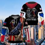 America - Philippines I'm Filipino Guy All Over Print Shirts