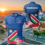 Namibia Special All Over Print Polo Shirt