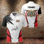 Yemen Active Style All Over Print Polo Shirt