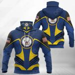 U.S Navy All Over Print Neck Gaiter Hoodie