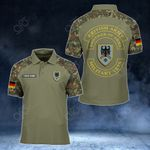 Customize German Army All Over Print Polo Shirt