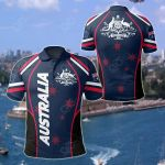 Australia - Australian Coat Of Arms All Over Print Polo Shirt