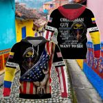 America - Colombia I'm Colombian Guy All Over Print Shirts