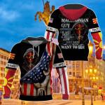 America - Macedonia I'm Macedonian Guy All Over Print Shirts