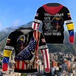 America - Venezuela I'm Venezuelan Guy All Over Print Shirts