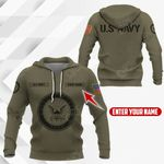 Customize United States Navy Symbol All Over Print Hoodies