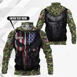 Customize Paratrooper 101st Airborne Division All Over Print Neck Gaiter Hoodie