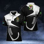 Customize Tanzania Coat Of Arms & Flag All Over Print Polo Shirt