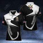 Customize United States Coat Of Arms & Flag All Over Print Polo Shirt