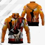 Canada Anzac Day All Over Print Neck Gaiter Hoodie