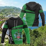 Saint Kitts And Nevis Sport Premium Style All Over Print Hoodies