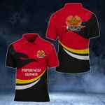Papua New Guinea Proud Version All Over Print Polo Shirt