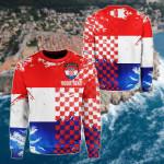 Customize Croatia Dynamic Sport All Over Print Shirts