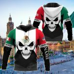 Customize Mexican Roots All Over Print Hoodies