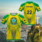 Customize Brazil - New Style All Over Print T-shirt