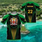 Customize Jamaica - New Style All Over Print T-shirt