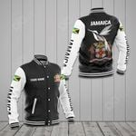 Customize Jamaica Coat Of Arms - The Doctor Bird All Over Print Varsity Jacket