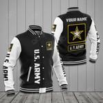 Customize U.S.Army Symbol All Over Print Varsity Jacket