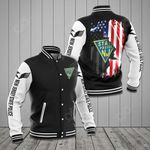 New Jersey State Police All Over Print Varsity Jacket