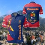 Venezuela Ball Style All Over Print Polo Shirt