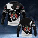 Customize The Gambia Coat Of Arms - Flag V2 All Over Print Hoodies