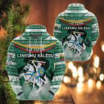 Lithuania Christmas Simple Vibes Version All Over Print Shirts