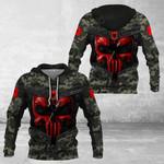 Albania Camo - New Style All Over Print Hoodies