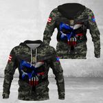 Puerto Rico Camo - New Style All Over Print Hoodies