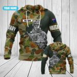 Customize Australian Army Military All Over Print Hoodies
