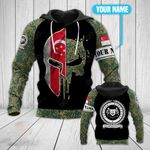 Customize Singapore Army All Over Print Hoodies