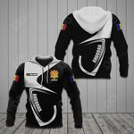 Customize Andorra Coat Of Arms & Flag All Over Print Hoodies