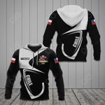 Customize Chile Coat Of Arms & Flag All Over Print Hoodies