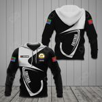 Customize Eritrea Coat Of Arms & Flag All Over Print Hoodies