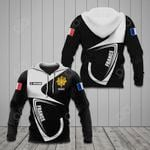 Customize France Coat Of Arms & Flag All Over Print Hoodies