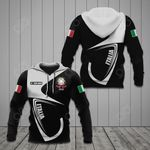 Customize Italia Coat Of Arms & Flag All Over Print Hoodies