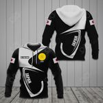 Customize Japan Coat Of Arms & Flag All Over Print Hoodies