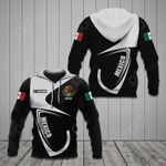Customize Mexico Coat Of Arms & Flag All Over Print Hoodies