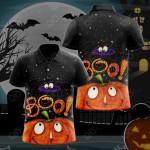 Boo Halloween All Over Print Polo Shirt