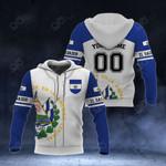 Customize El Salvador Coat Of Arms - Sport All Over Print Hoodies