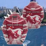 Australia Christmas Kangaroo Simple Vibes Version All Over Print Shirts