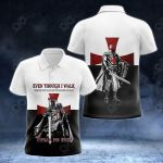 Knights Templar All Over Print Polo Shirt