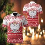 Polska Christmas All Over Print Polo Shirt